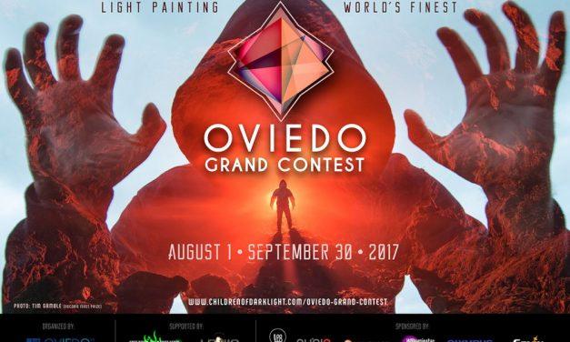 Oviedo Light Painting Contest 2017