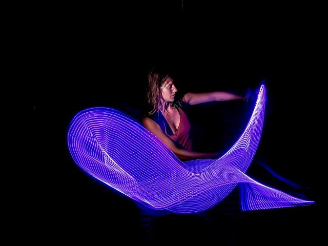 360 light painting