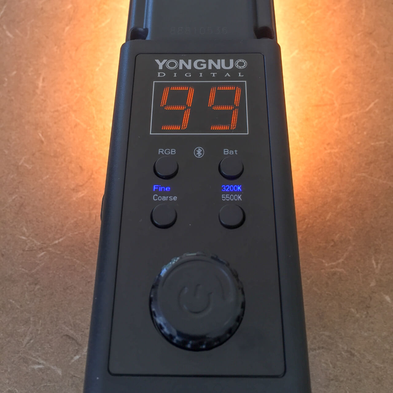 Yongnuo YN360 On-Board Controls