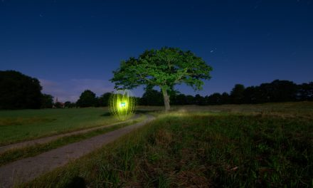Light Painting and environmental protection