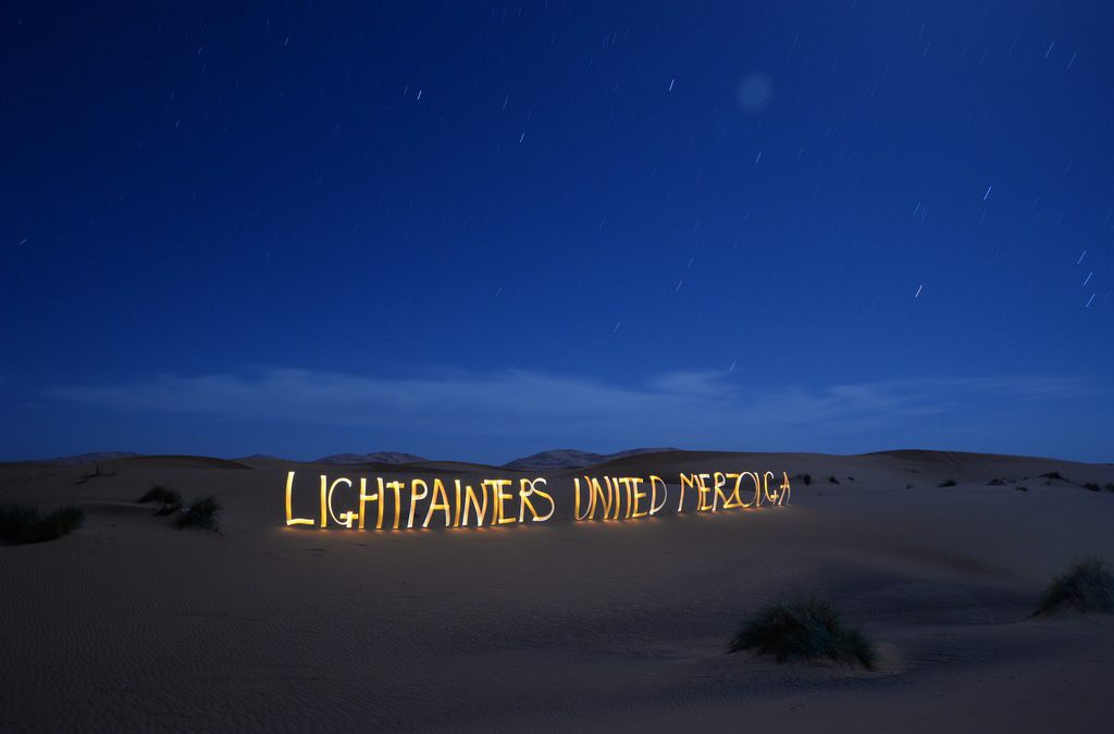 Lightpainters United – Merzouga 2018