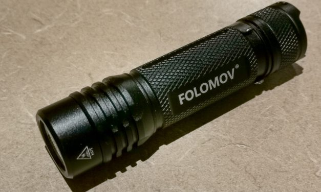 Flashlight Review: Folomov 18650S