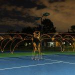 Using Virtual Reality to Augment Light Drawing