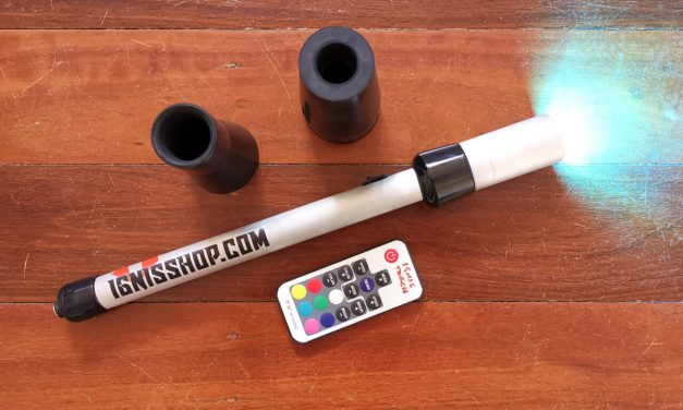 Double Review: Ignis Shop – Color LED Torch and Lightsaber