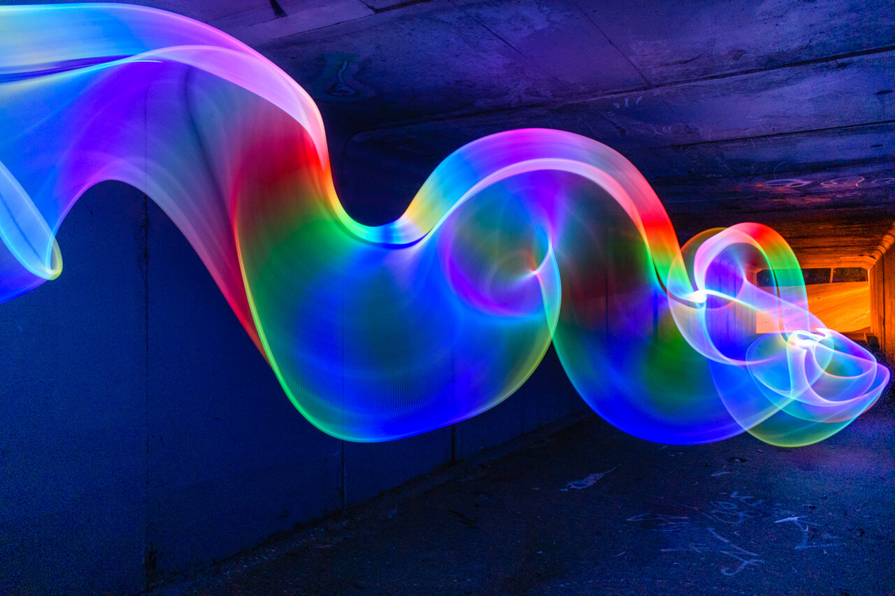 Created with the 10mm Fiber Optic