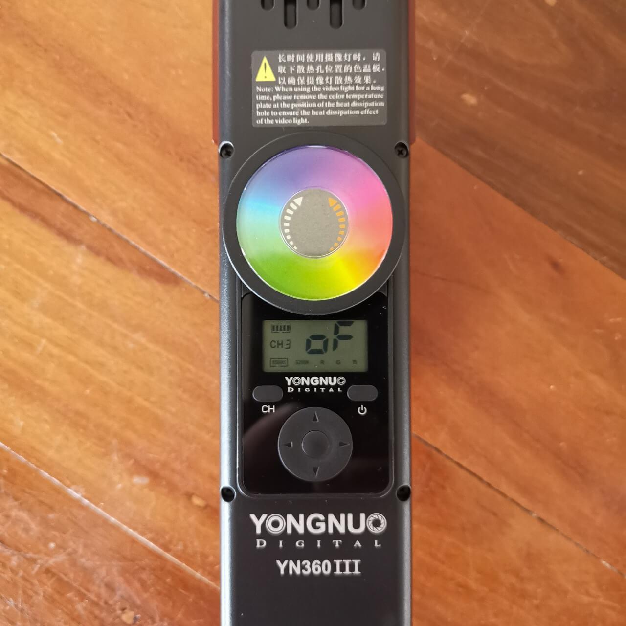 YN360iii Remote Control