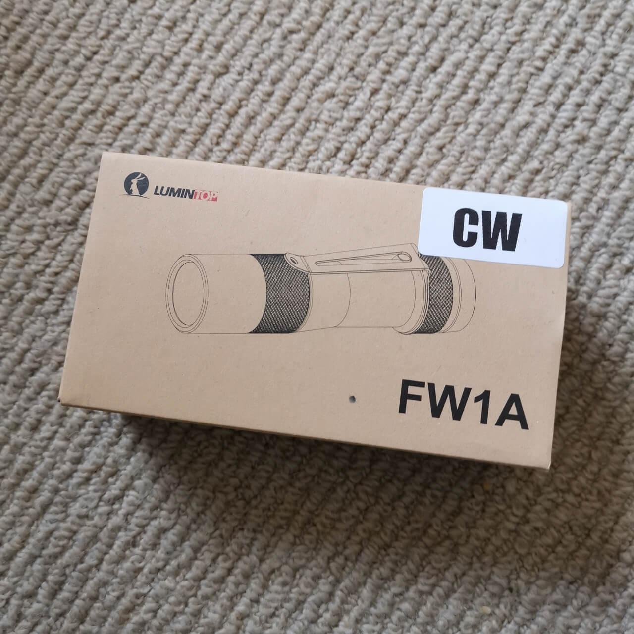 Lumintop FW1A Box